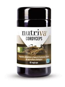 NUTRIVA CORDYCEPS 60CPS VEG