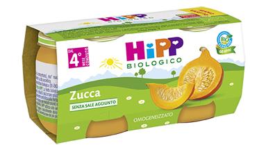 HIPP BIO OMOG ZUCCA 2X80G