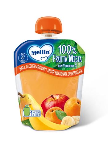 MELLIN 100% FRUTTA MISTA 90G