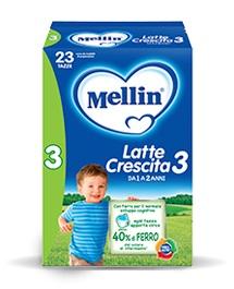 MELLIN 3 LATTE POLVERE 700G