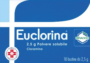 EUCLORINA*POLV SOL 10BUST 2