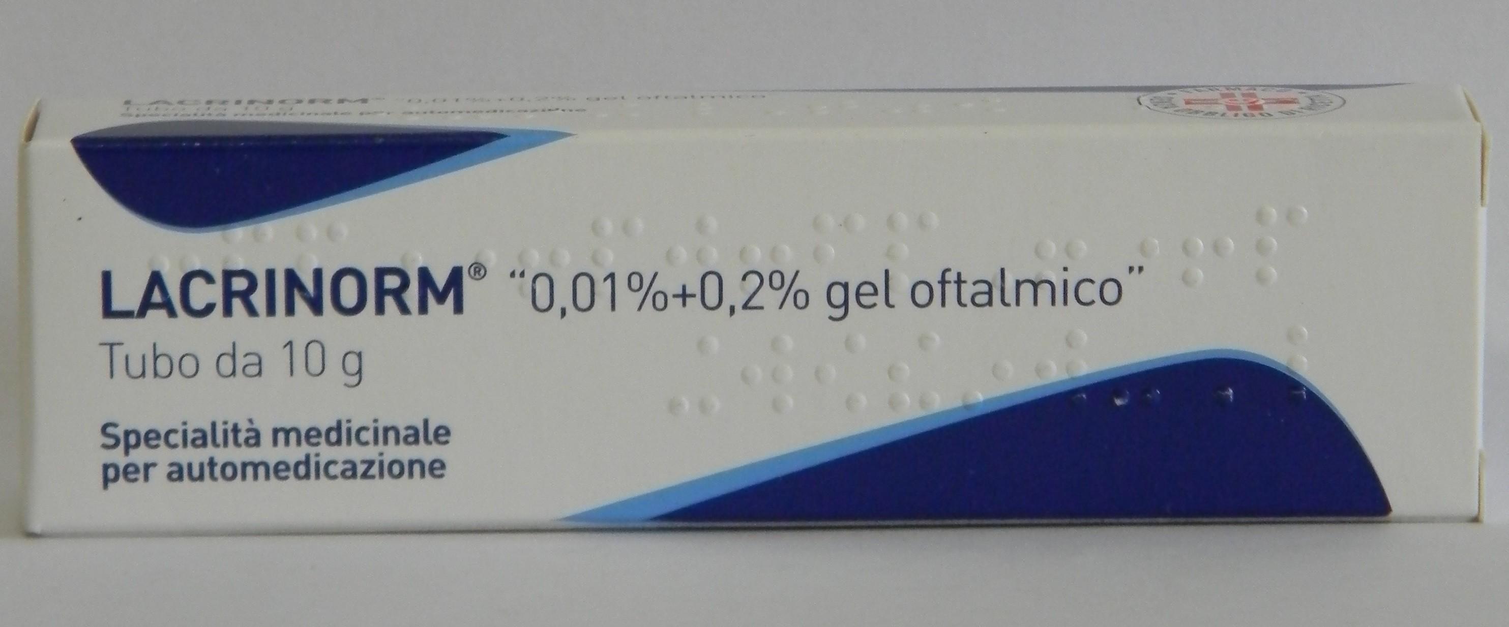 LACRINORM*GEL OFT 10G 0