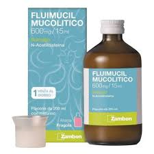 FLUIMUCIL MUCOL*SCIR600MG/15ML