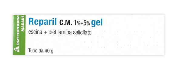 REPARIL GEL CM*40G 1%+5%