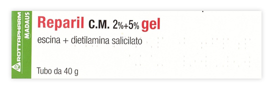 REPARIL GEL CM*40G 2%+5%