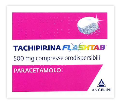 TACHIPIRINA FLASHTAB*16CPR 500