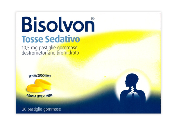 BISOLVON TOSSE SED*20PAST 10