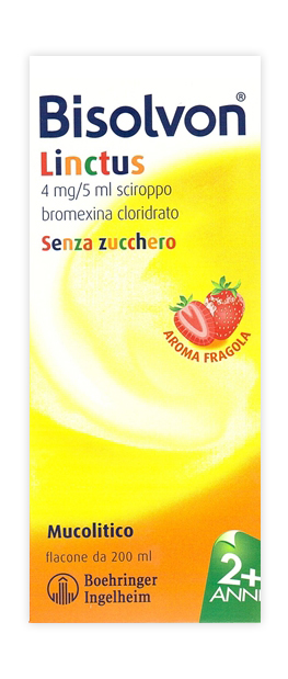 BISOLVON*SCIR FL 200ML FRAGOLA