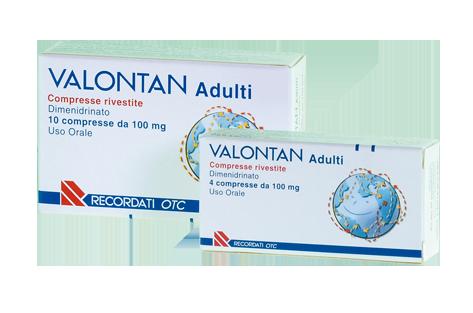 VALONTAN*10CPR RIV 100MG