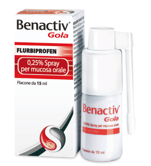 BENACTIV GOLA*SPRAY 15ML 0