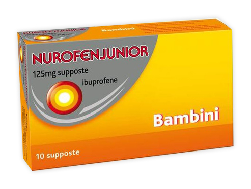 NUROFENJUNIOR*10SUPP 125MG